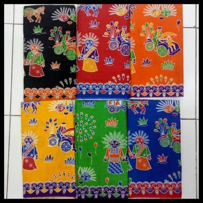 sarung motif batik betawi