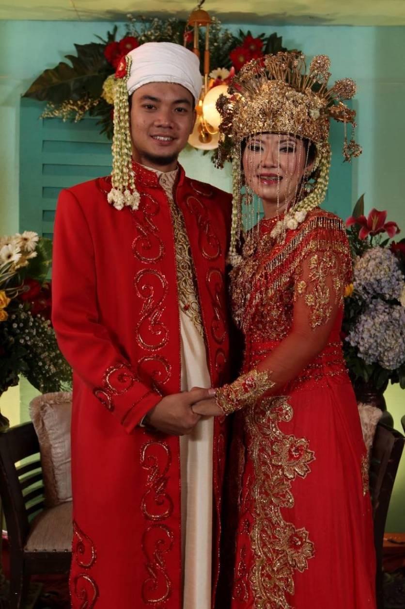 pakaian pengantin pria betawi