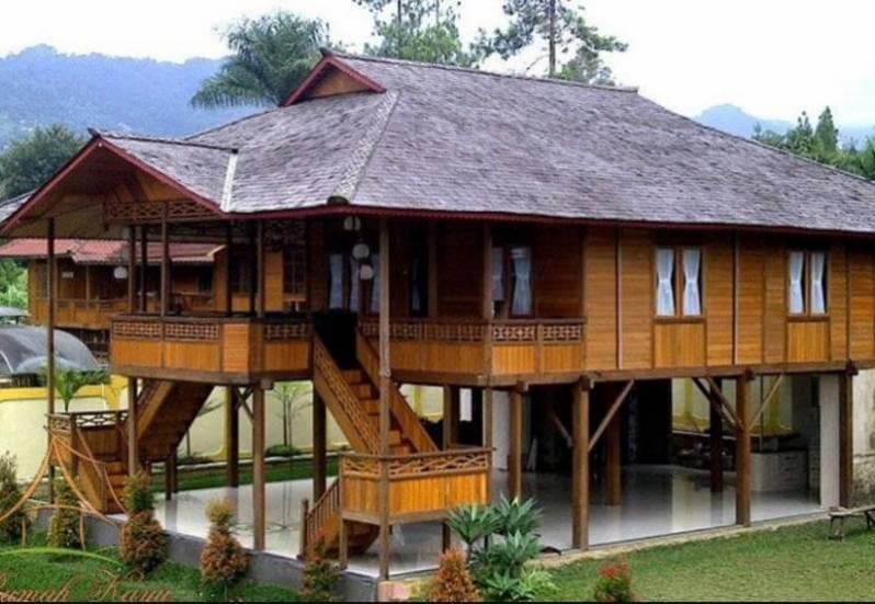 Rumah panggung adat sulsel
