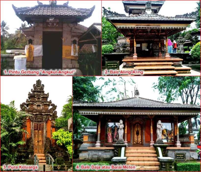 Daftar Terlengkap 4 Design Rumah Adat Bali Gambar Penjelasan