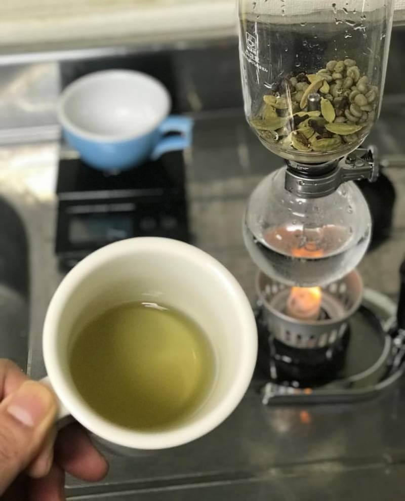 aturan minum Green Coffee