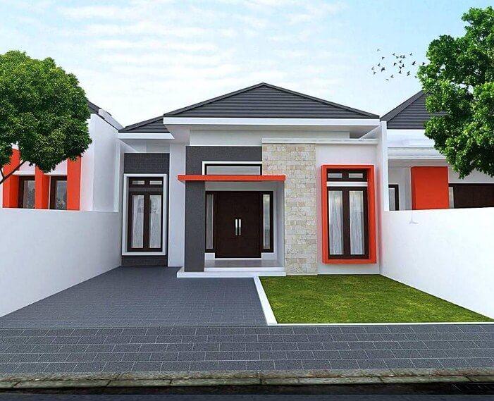 jual rumah pontianak gaya minimalis