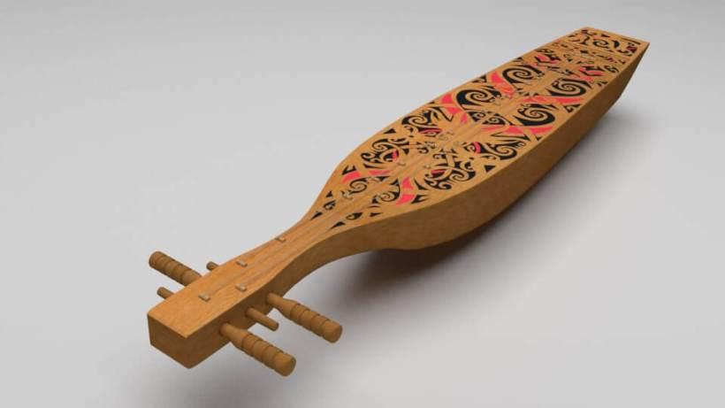 Alat musik tradisional suku dayak