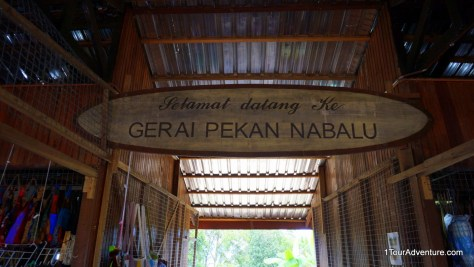 """Basically it means """"Welcome to Nabalu Town market"""""""