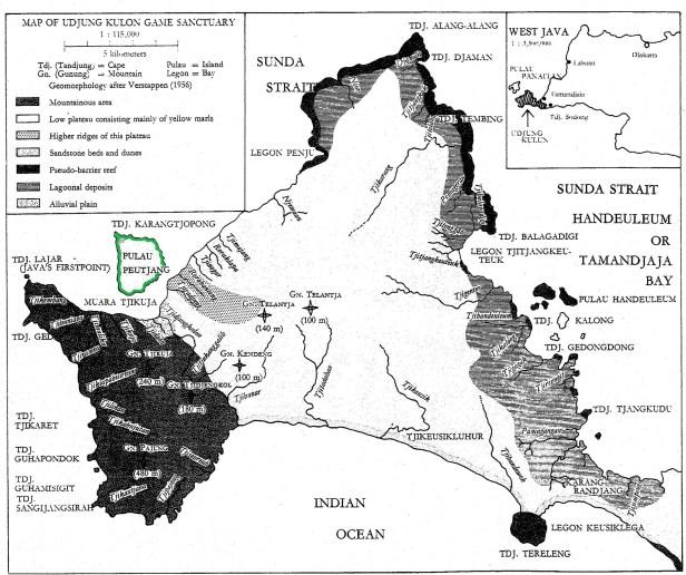 Map Ujung Kulon National Park (2)