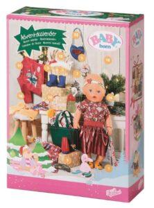 baby born julekalender, julekalender med baby born, julekalender til piger, pige julekalender, julekalender med dukke tøj