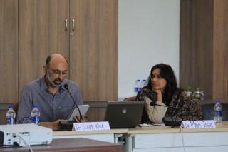 Dr. Suvir Kaul and Chair: Dr. Maya Joshi