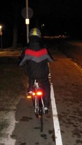 Cykellygterne og baglygterne