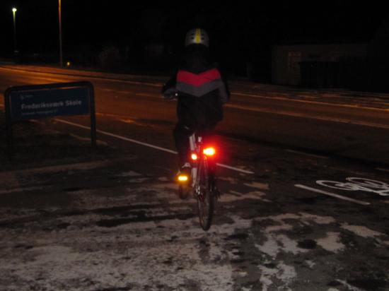 baglygter og Cykellygterne