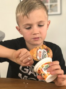 Arla Explorers bubble yoghurt