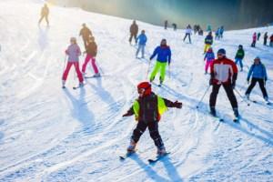 Isaberg skicenter. vinterferiens udflugter sammen med familien