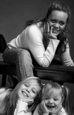 Susanna Hochheim Johansen og børn