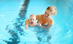 Baby, svømmehal