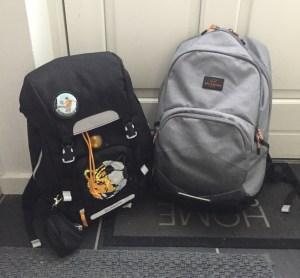 smarte skoletasker, både til drenge og piger