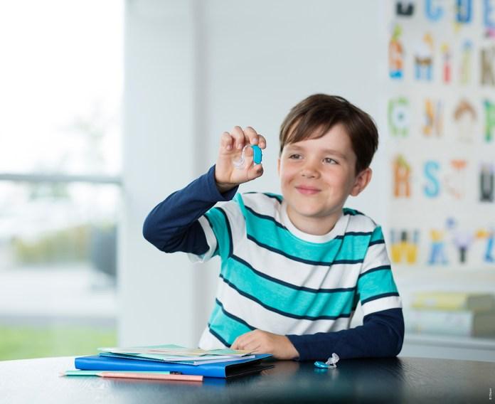 høreapparater, til børn og unge