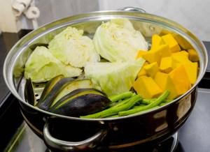 Damp dine grønsager