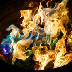fire in a bucket