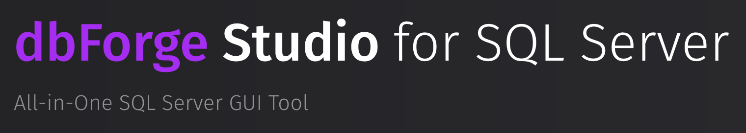 dbForge Studio logo
