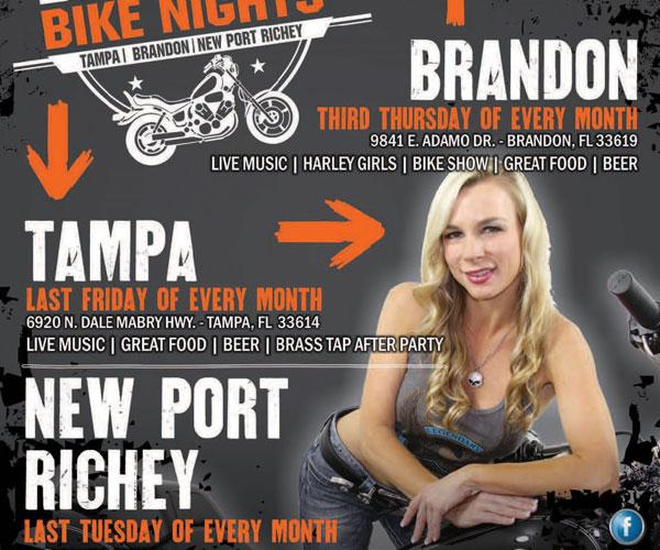 H-D New Port Richey Bike Night at Kickin' Wingz