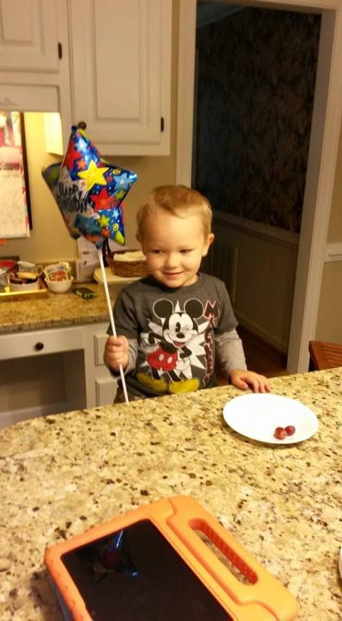 My nephew Foster, loves mickey mouse!