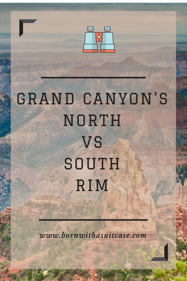 Grand Canyon's North vs South Rim