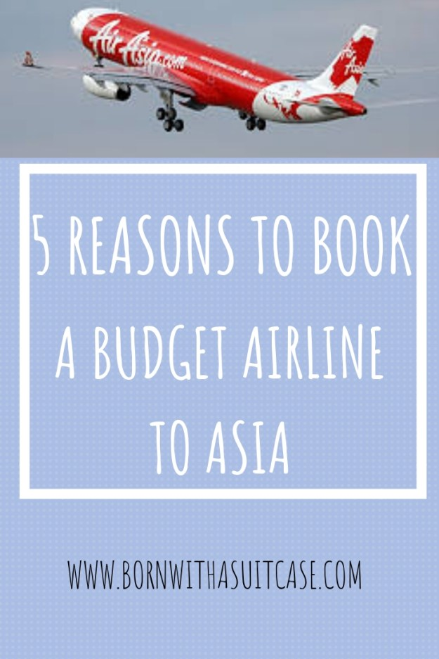 5 reasons to book a budget airline to asia