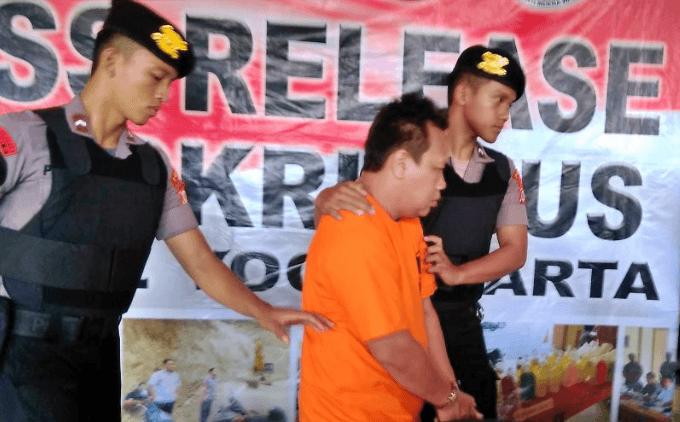 NEWS: Pelaku penyebar video hoax korban klitih yang ternyata korban kecelakaan Muntilan, diamankan polisi (4/2/2020)-(Foto: Istimewa)