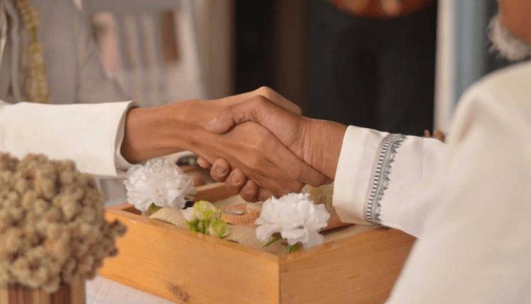 ILUSTRASI : prosesi akad nikah, ternyata penghulunya adalah mantan suami pengantin perempuan