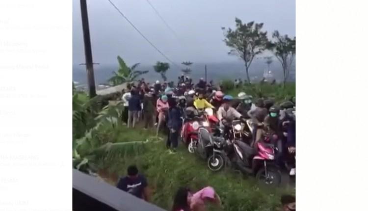 Viral video kondisi kawasan wisata Silancur Kaliangkrik pada di tengah pandemi covid-19