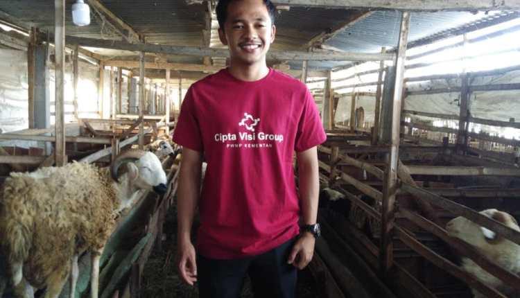 Rayndra Syahdan Mahmudin, seorang Petani Muda yang sukses asal Ngablak Magelang (Foto: Doc Pribadi)
