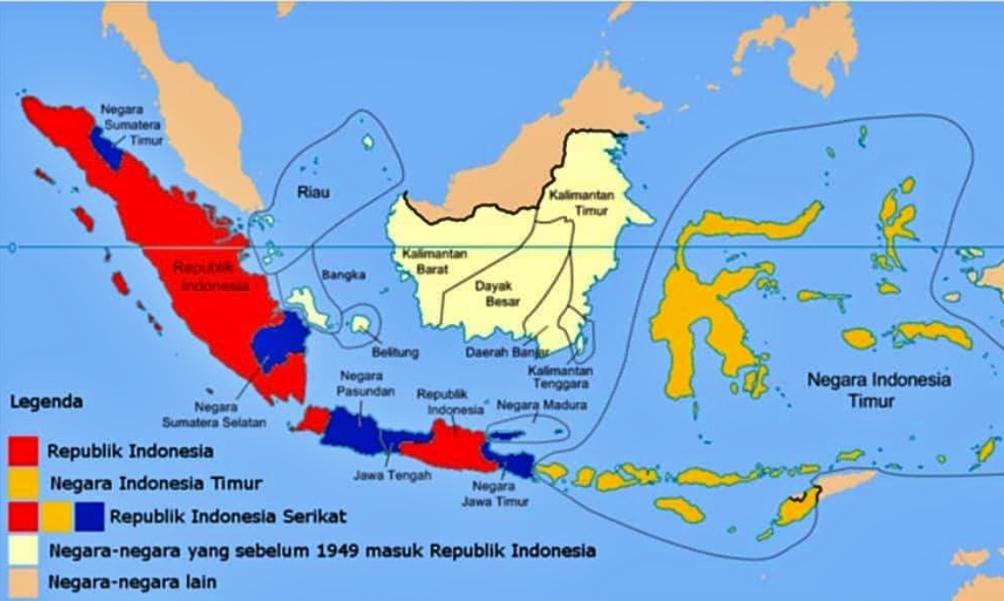 Uploaded on september 21, 2018. Ini 7 Negara Bagian 7 Presiden Dan 7 Bendera Di Indonesia Sebelum Nkri Borobudurnews