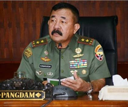 Mayjen TNI (Purn) Komaruddin Simanjuntak.