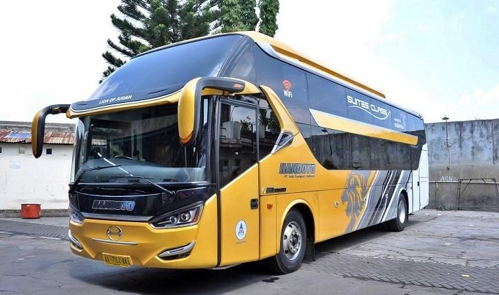 Bus Handoyo Social Distancing