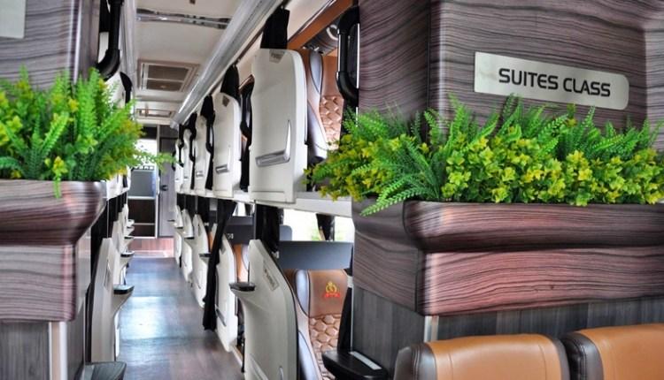 Set Tempat Duduk Bus Suitess Clas PO Handoyo