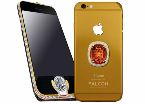 1. Falcon Supernova iPhone 6 Pink Diamond (Rp 662 miliar)