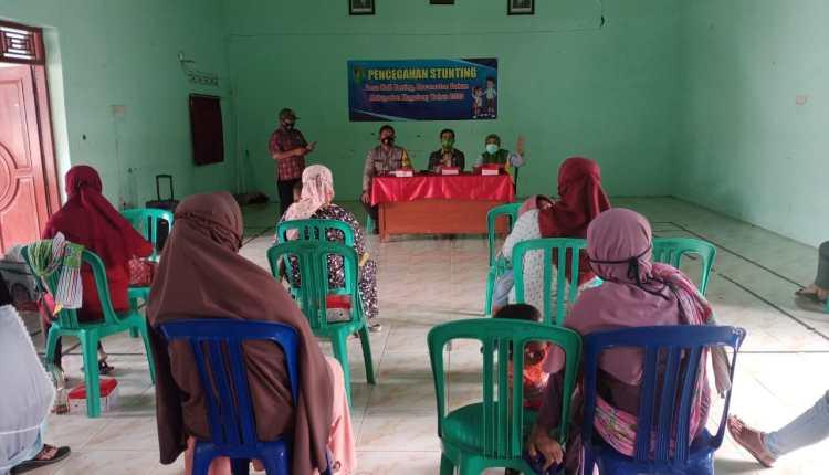 Sosialisasi Stunting di Desa Kalibening Kecamatan Dukun (3/12/2020)-(foto: istimewa)