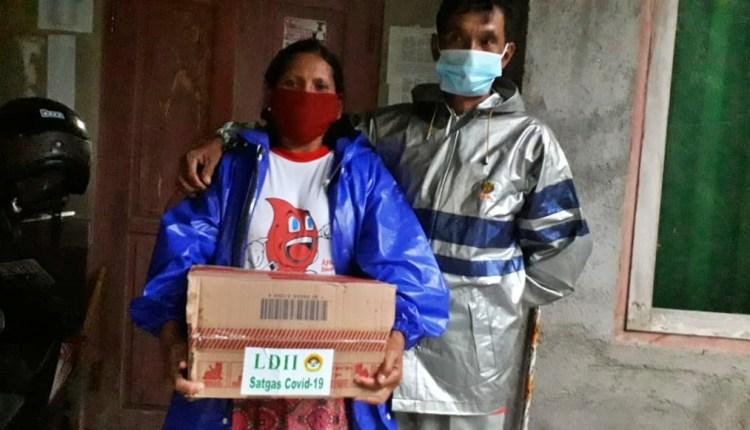 LDDI Magelang Jogo Tonggo, salurkan bantuan ke warga yang isolasi mandiri
