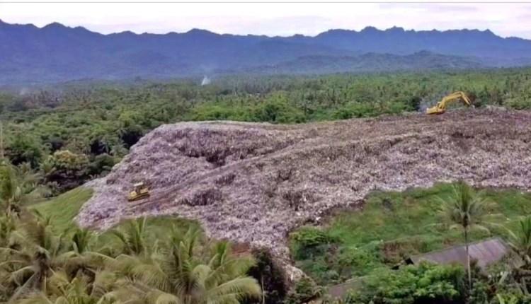 TPAS Pasuruhan Mertoyudan sampah menggunung (4/1/2021)-(Foto: Borobudur News)