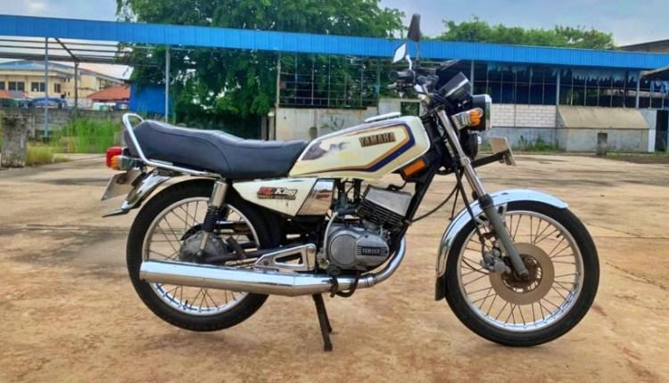 Sepeda Motor RX King Jadul 125 Juta