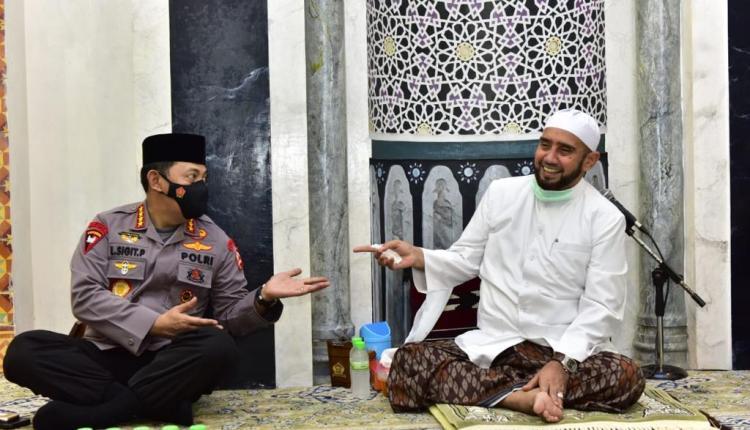 Kapolri ketemu Habib Syeh di Solo