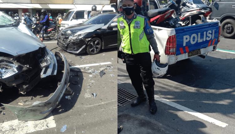 Kecelakaan beruntun di Jogja