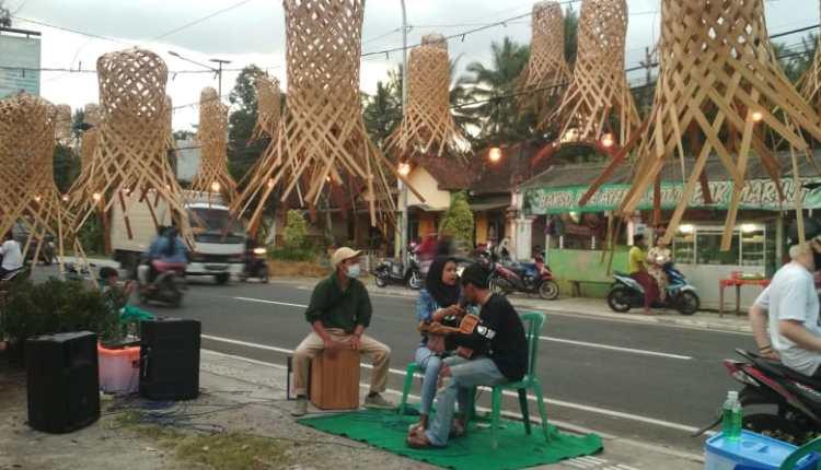 Pasar Ramadhan Ringinputih Borobudur ada live musik