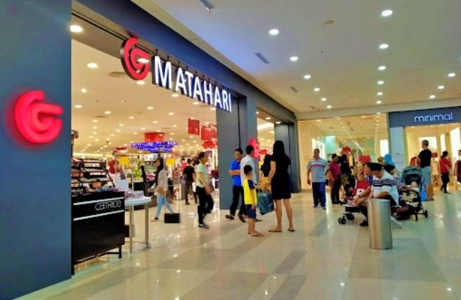 gerai matahari di mall
