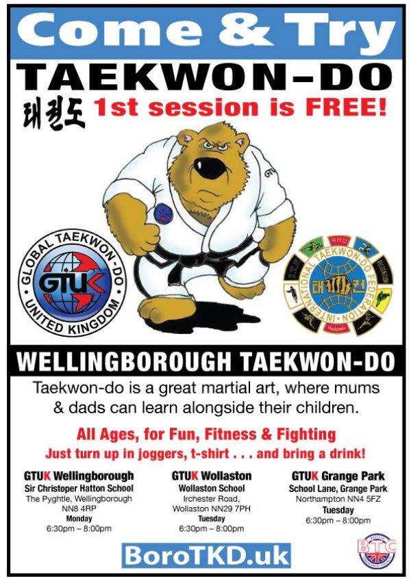 Come & Try TAEKWONDO