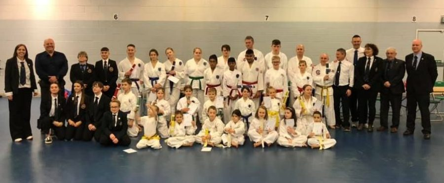 Wellingborough Taekwondo grading