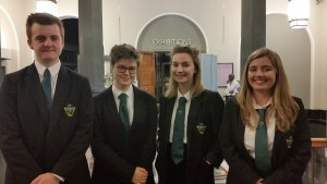 Senior debating team.