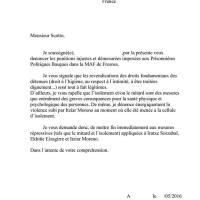 Huelga de hambre en la cárcel de Fresnes