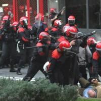 """Esto no es violencia de estado para los hipócritas del """"gobierno vasco"""""""