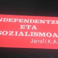 El socialismo revolucionario abertzale: Kas y Ekin (III)