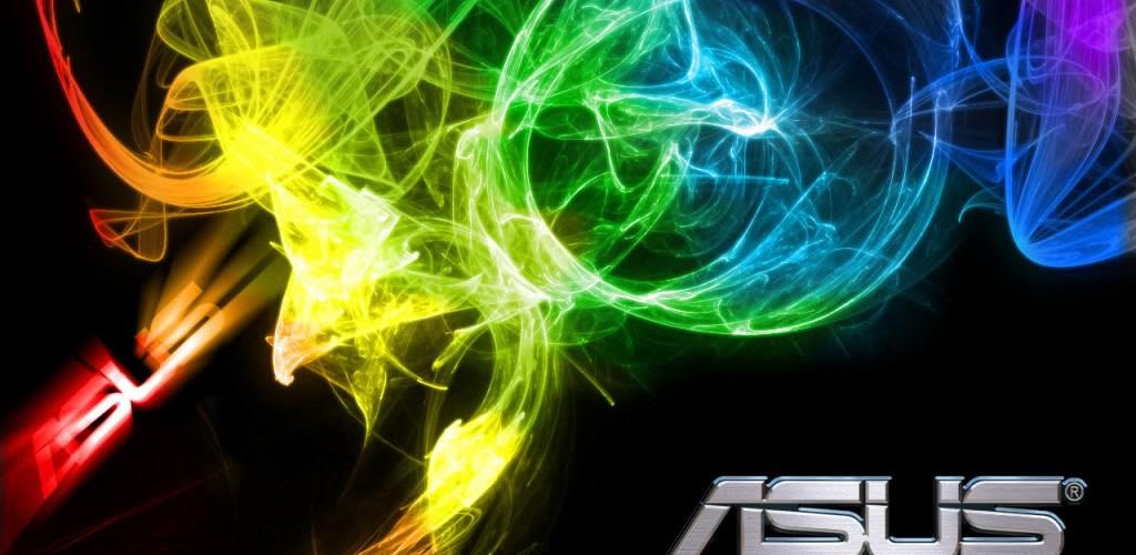 Asus con humo de colores